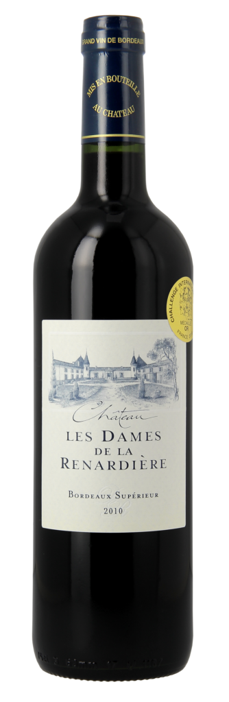 Ch Les Dames de la Renardière 2010 Rouge Tradition medium